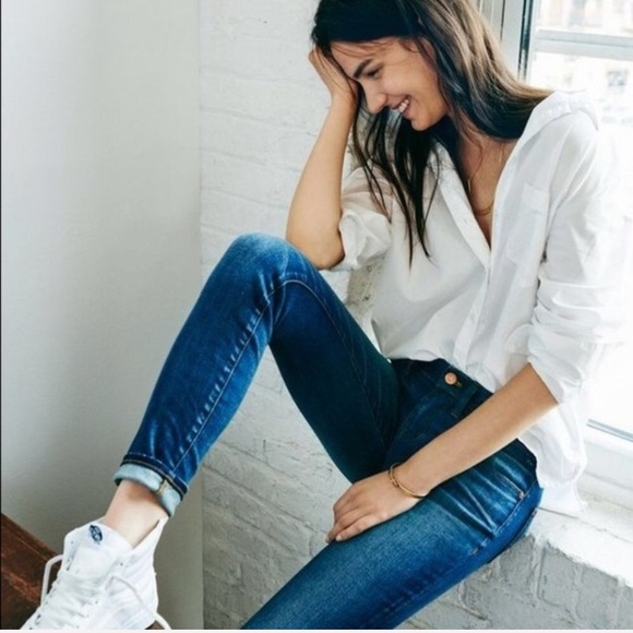 Madewell Denim - Madewell Skinny Skinny Jeans in Edmonton Wash - 28